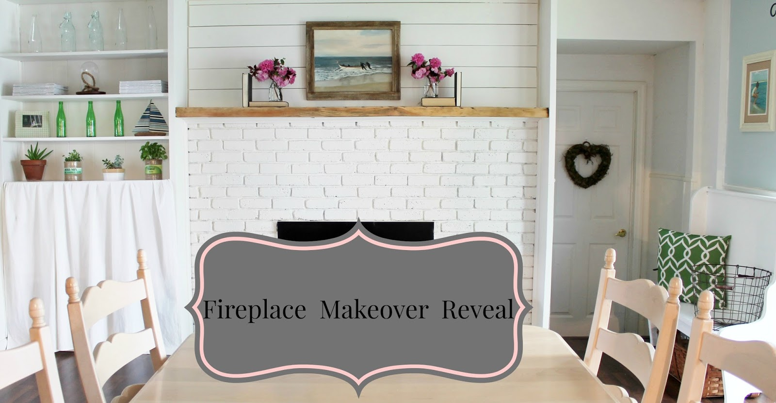 fireplace makeover reveal farmhouse style love my simple home