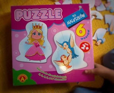 puzzle dla maluszka układanki mało elementów puzzle dla dzieci puzzle dla dwulatka prezent na roczek prezent na urodziny puzzle alexander recenzja puzzli alexander recenzja puzzli zabawa na jesien