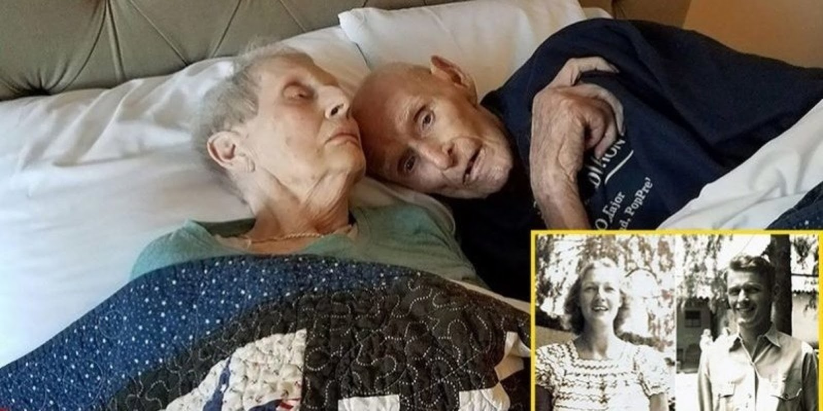 Couple Who Had Served In WWII Together, Married For 70 Years, Died On The Same Day