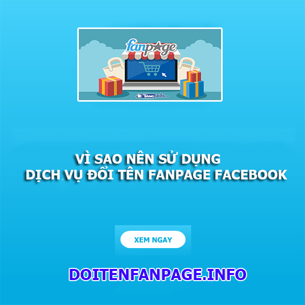 dich vu doi ten fanpage facebook