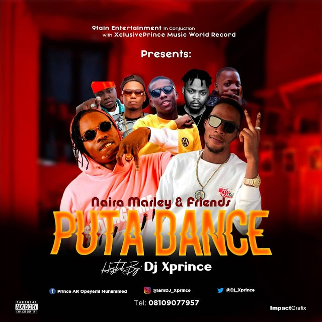 [Mixtape] Dj Xprince – Naira Marley & Friends Puta Dance Mixtape