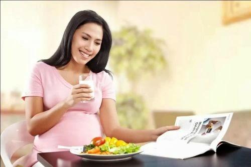 makanan untuk ibu hamil diet sihat