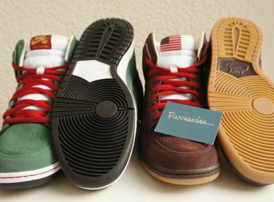 "brand new 9b30e 0fb1a THE SNEAKER ADDICT Nike SB Dunk High ""Beer Bottle"" Sneaker Pack Release  Info"