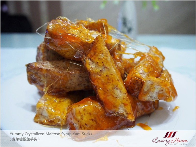 yummy crystallized yam sticks with sesame seeds recipes