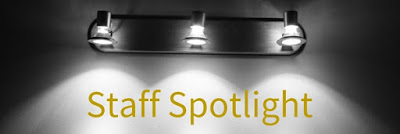 A welcome image for our staff spotlight series