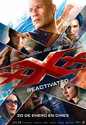 Poster xXx: Return of Xander Cage 2017