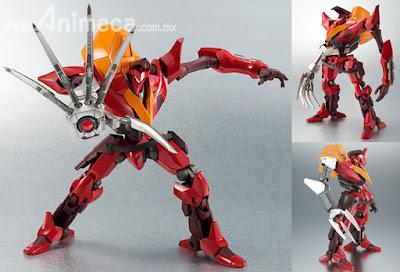 Figura Guren Type-02 (Kouichi Model Arm Equipped) ROBOT SPIRITS SIDE KMF Code Geass Lelouch of the Rebellion
