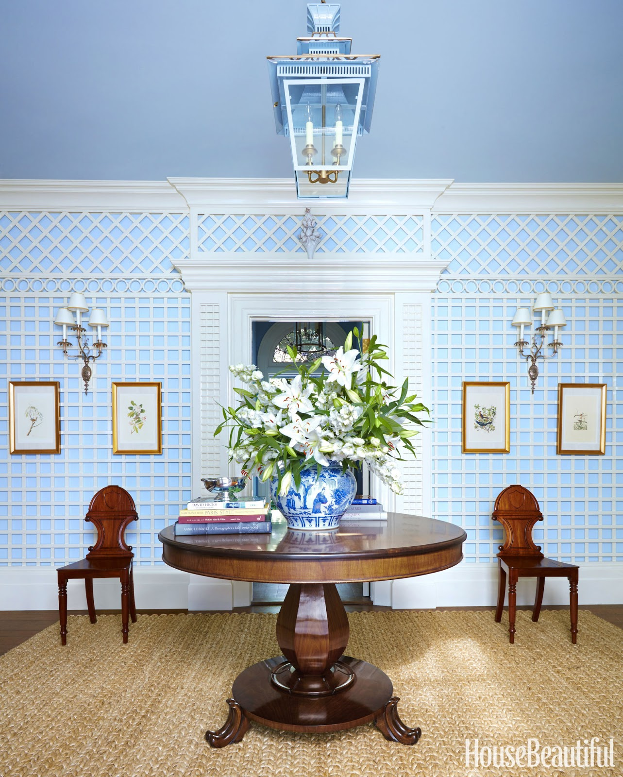 Hydrangea Hill Cottage: wainscoting