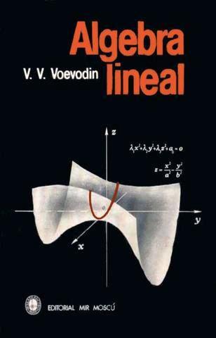 Álgebra Lineal – V. V. Voevodin