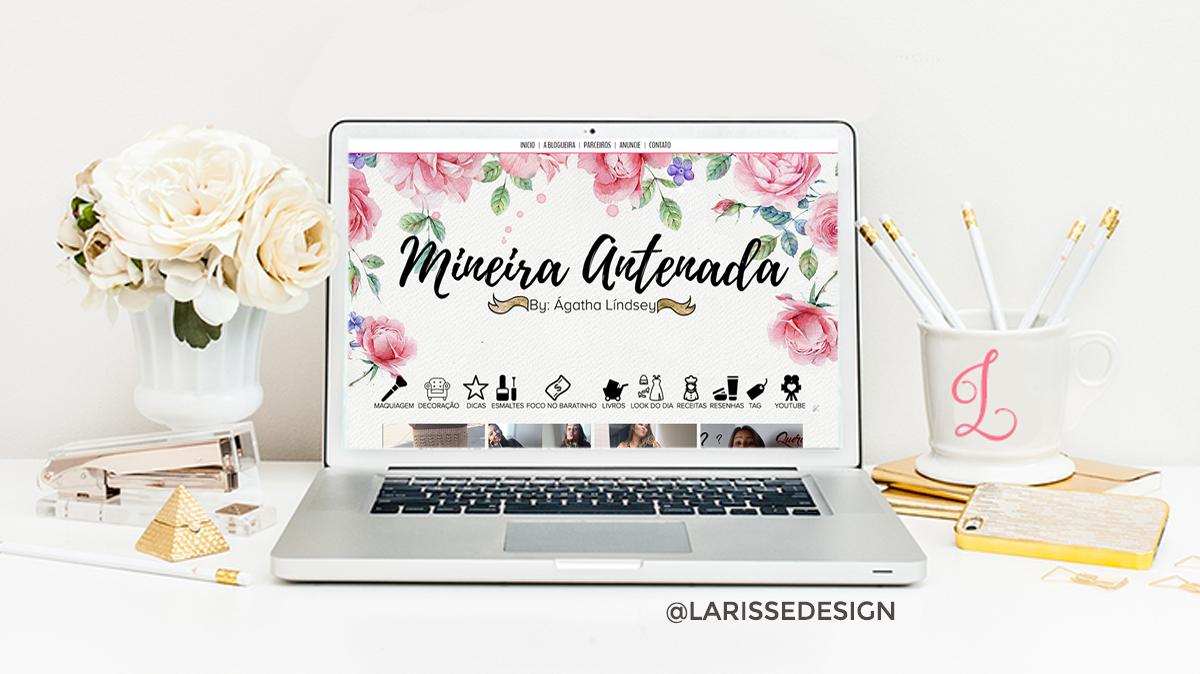 Famosos Templates para Blogs Femininos - Mais de 100 desenvolvidos | Filha  IC27