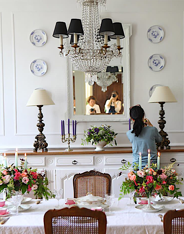 french manoir dining room