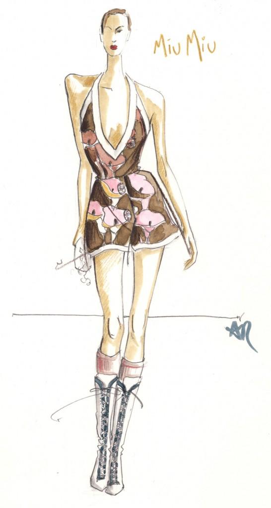 Choco's Fashion: Fashion Illustration