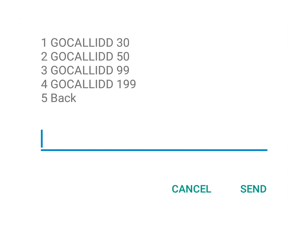 how to call usa landline from uk mobile