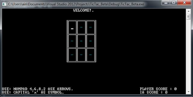 C/C++ TIC-TAC-TOE GAME
