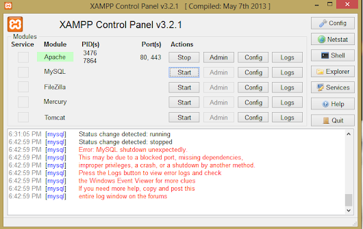 Plugin 'federated' is disabled. xampp