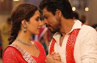 Mahira Khan & Shahrukh Khan in 'Raees'