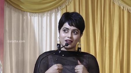 Poorna Speech@Savarakathi Success Meet   Mysskin   Ram   GR Adithya