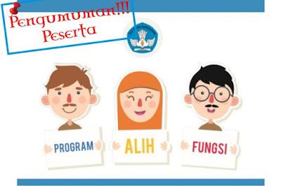 Pengumuman Peserta Program Alih Fungsi Guru Seluruh Indonesia 2016