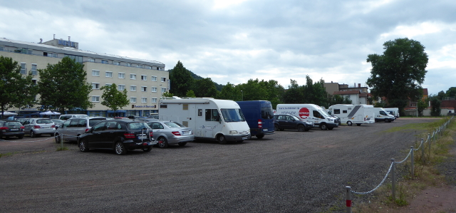 Eisenach, estacionament a la ciutat