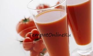 jus tomat segar sehat