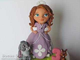disney princesa sofia bolo