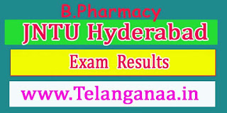 JNTU Hyderabad B.Pharmacy 1st Year All Regulation May 2016-Revaluation Results