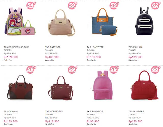 tas anak sophie, lebaran sale, sale, promo sophie paris, promo sophie, backpack, tas sekolah, tas wanita, branded bag, sling bag, handbag sophie, tas sophie