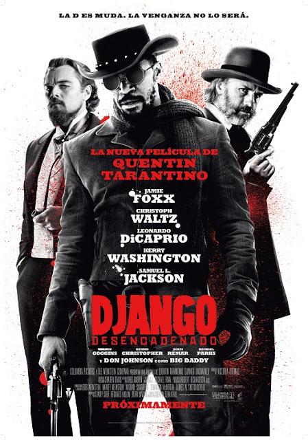 Django desencadenado Unchained - Cartel