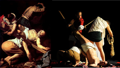 caravaggio tableaux vivants