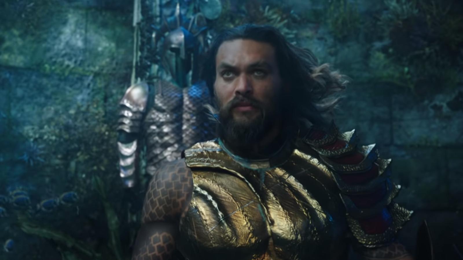 """""""Aquaman"""" estreia nos cinemas brasileiros em 13 de dezembro."""