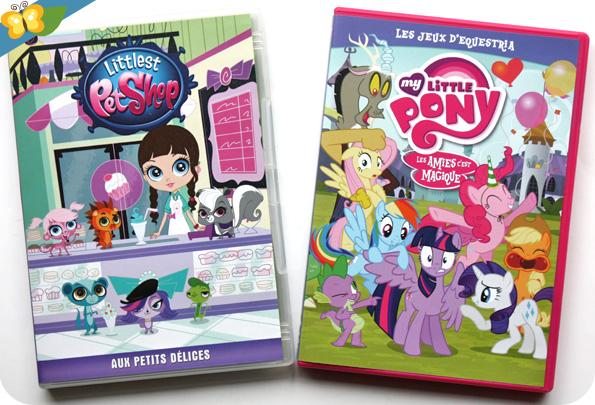 DVD Littlest Petshop - Aux petits délices et de My Little Pony - Les jeux d'Equestria