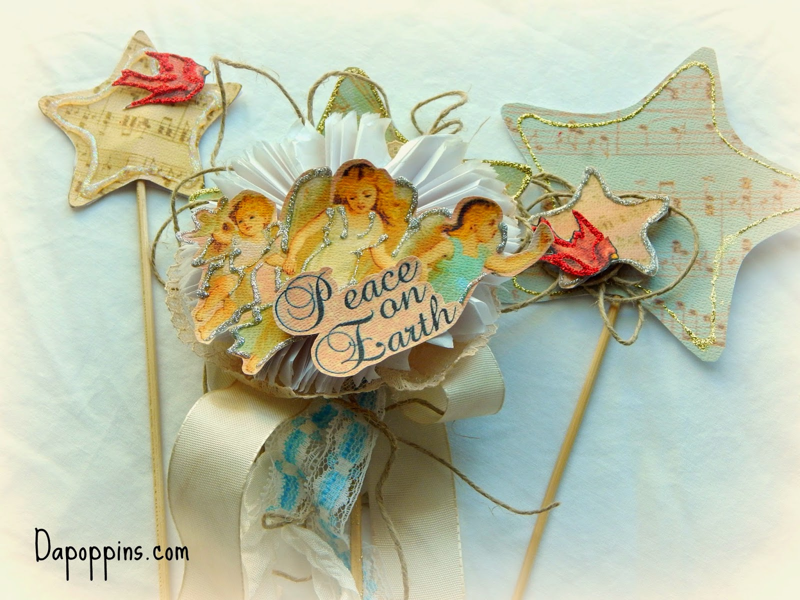 Shabby Chic, Scrapbooking, Paper Play, Dapoppins Creations