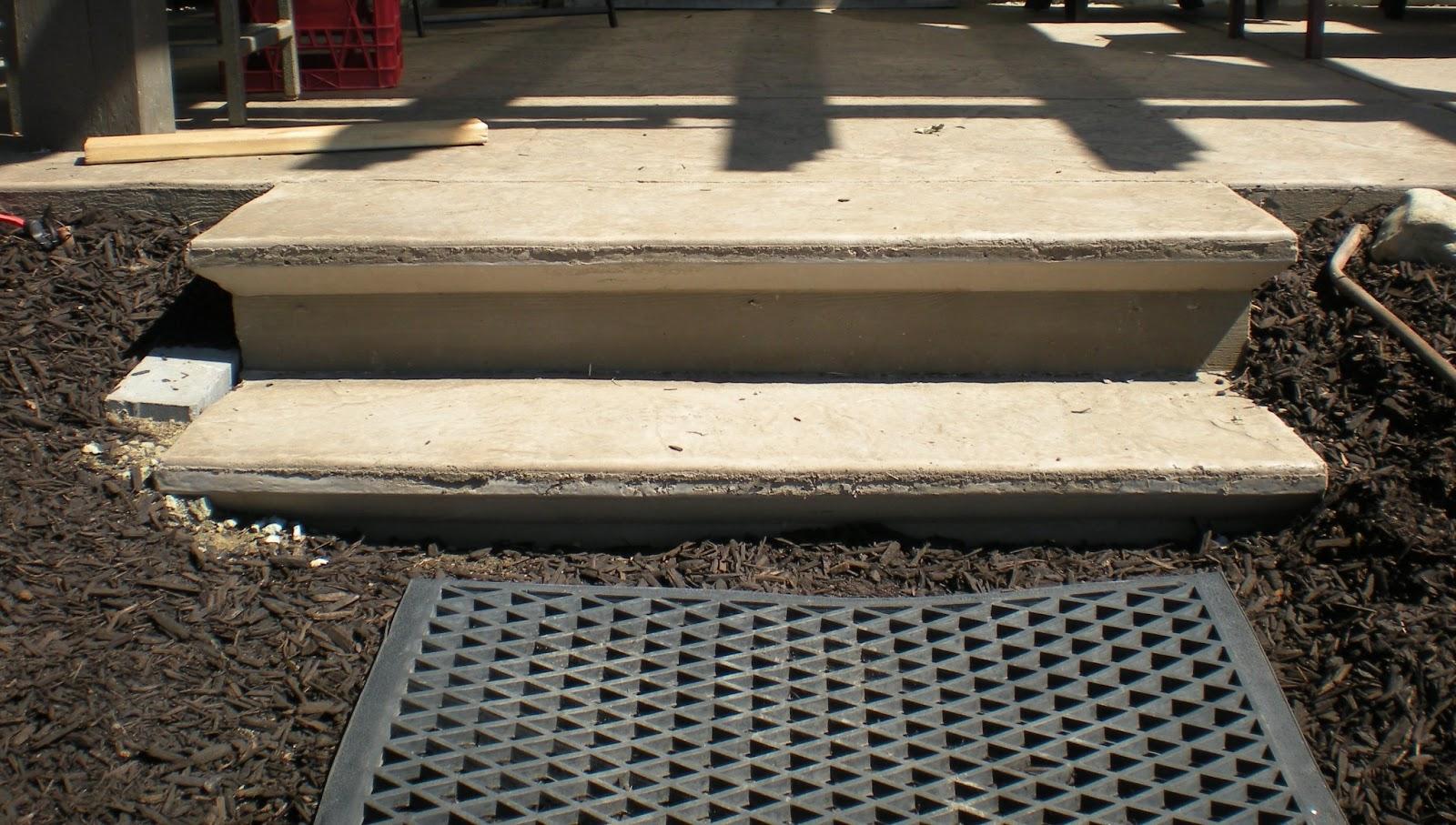 Mode concrete concrete patios stairs slabs driveways and pool decks concrete refinishing - Refurbish stairs budget ...