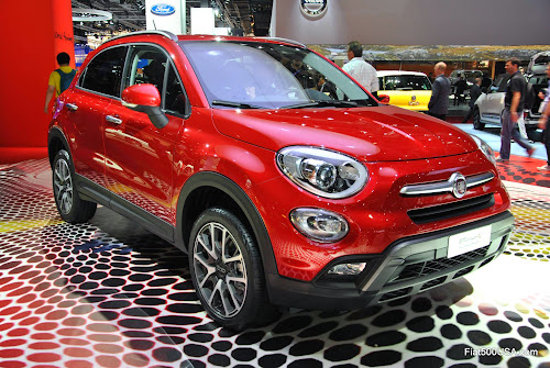 Fiat 500X Right Front