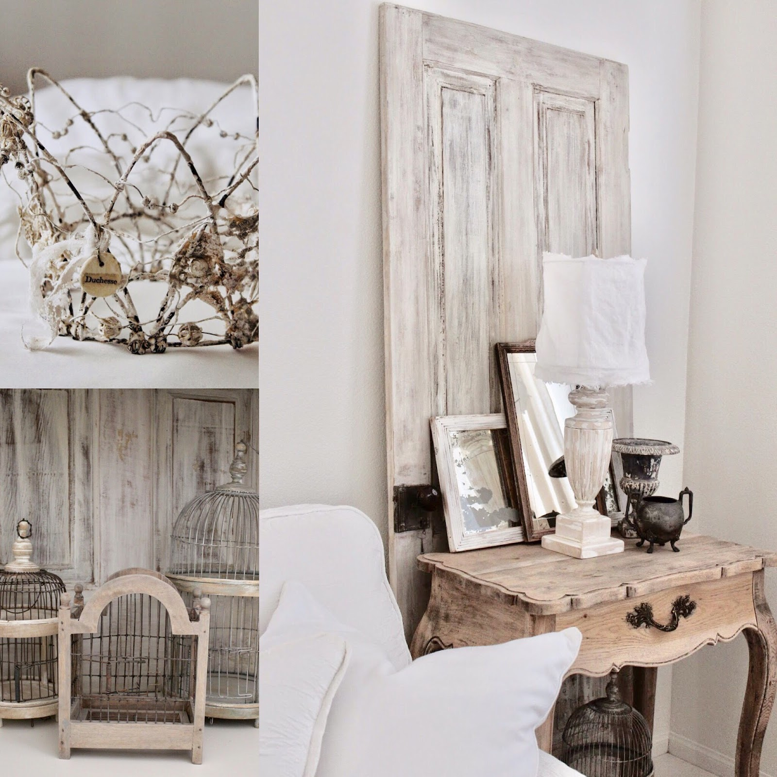 Burlap Luxe: French Crown Wire-Art...All Is Calm