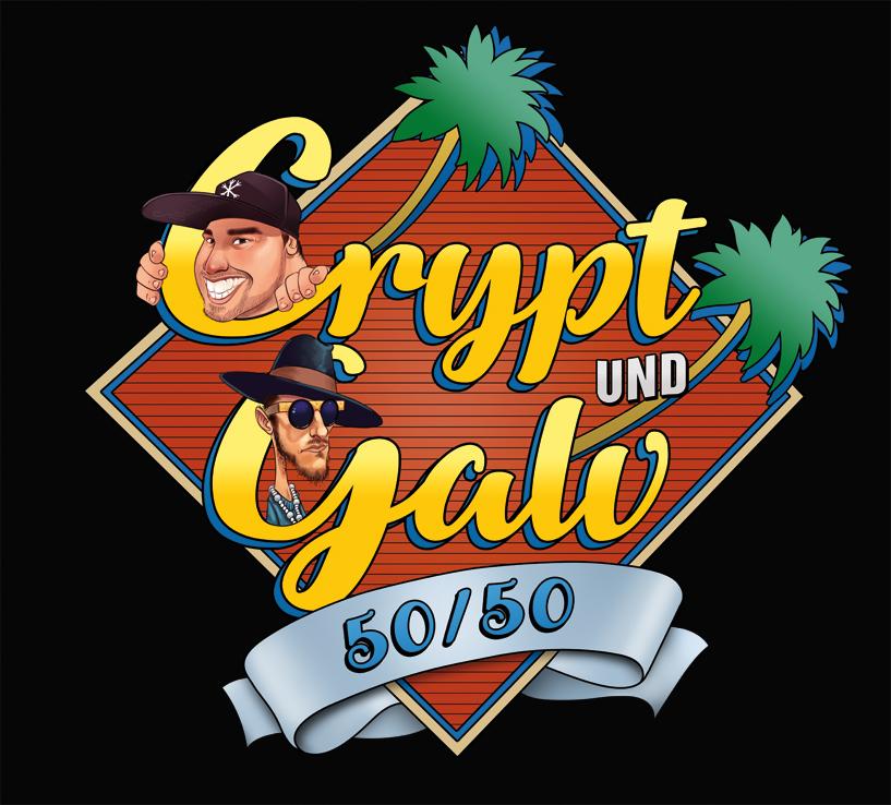 CRYPT und GALV - '50/50' EP | Deutschrap als Free EP Download