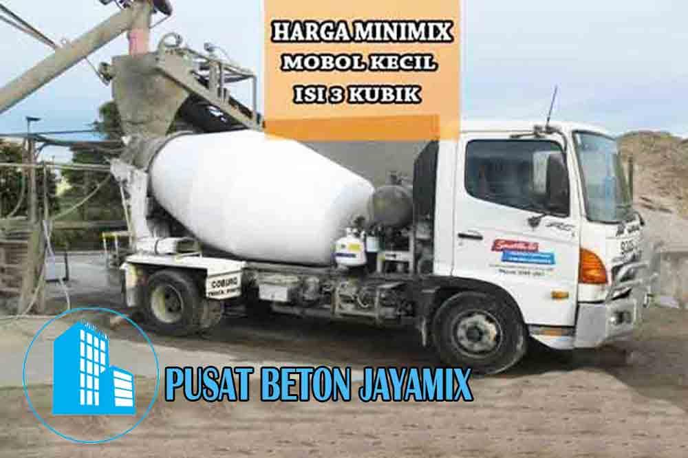 HARGA BETON MINIMIX JAKARTA TIMUR PER M3 TERBARU 2020