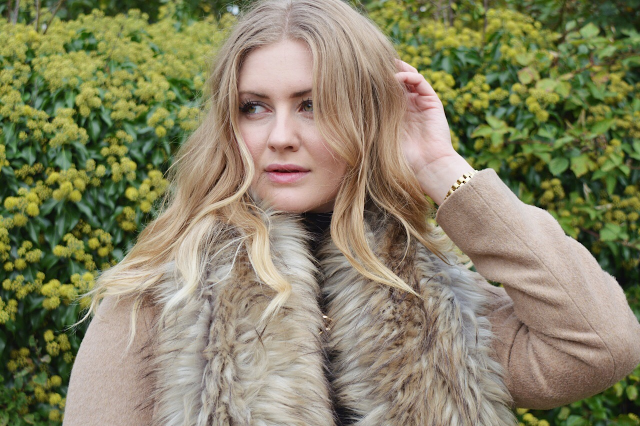 How to style a camel coat, FashionFake, fashion bloggers, Primark camel coat