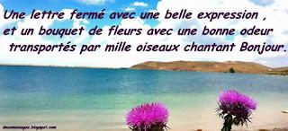image bonjour mon amour