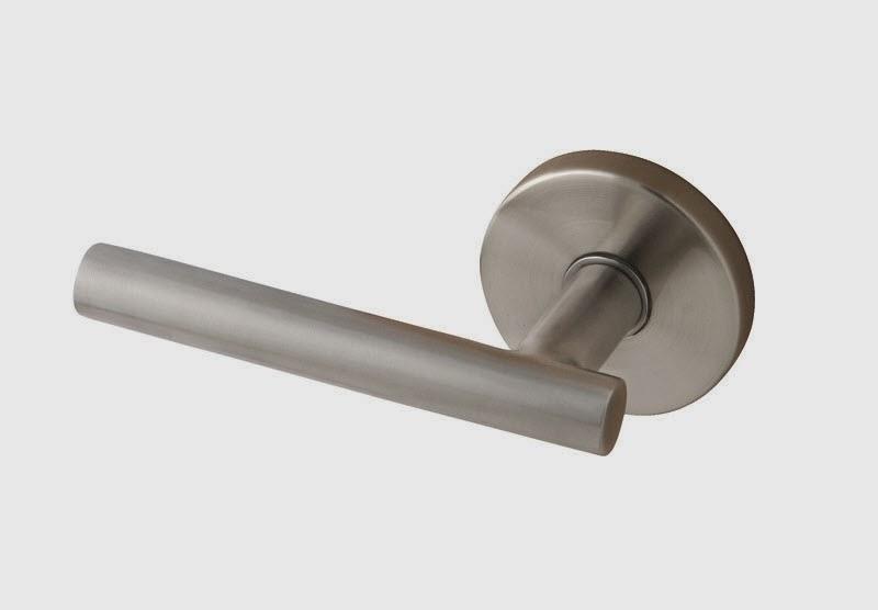Modern lever door handle