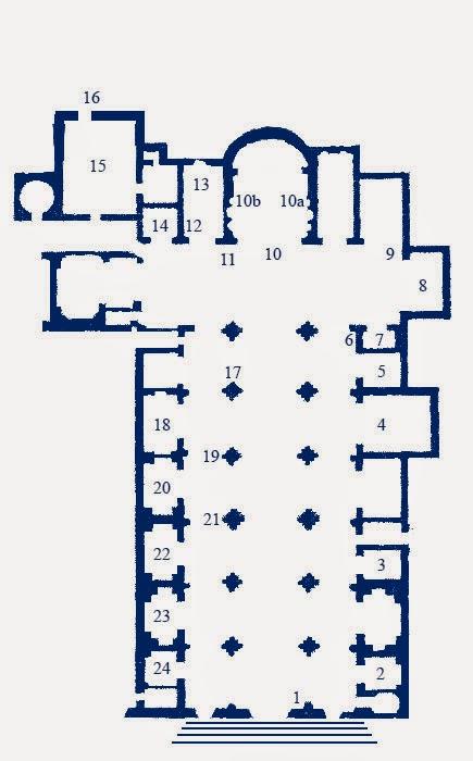 planta baixa santa maria minerva - Basílica de Santa Maria Sopra Minerva