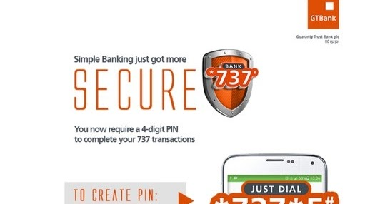 Gtbank Introduces Personalized Pin For *737# Mobile Transactions