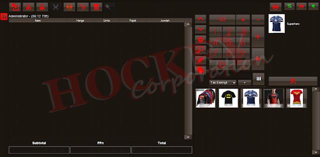 System penjualan usaha distro toko baju butik multy outlet