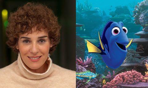 Anabel Alonso pone de nuevo voz al olvidadizo pez azul de 'Buscando a Dory'