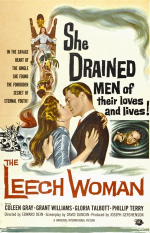 Poster - The Leech Woman (1960)