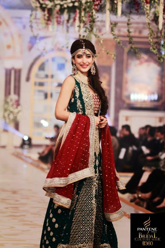 Wedding Jewelry: New Bridal Dress Designs 2014 By Zainab ...