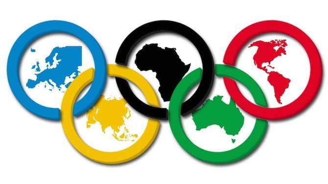 Resultado de imagen de aros olimpicos animados gif