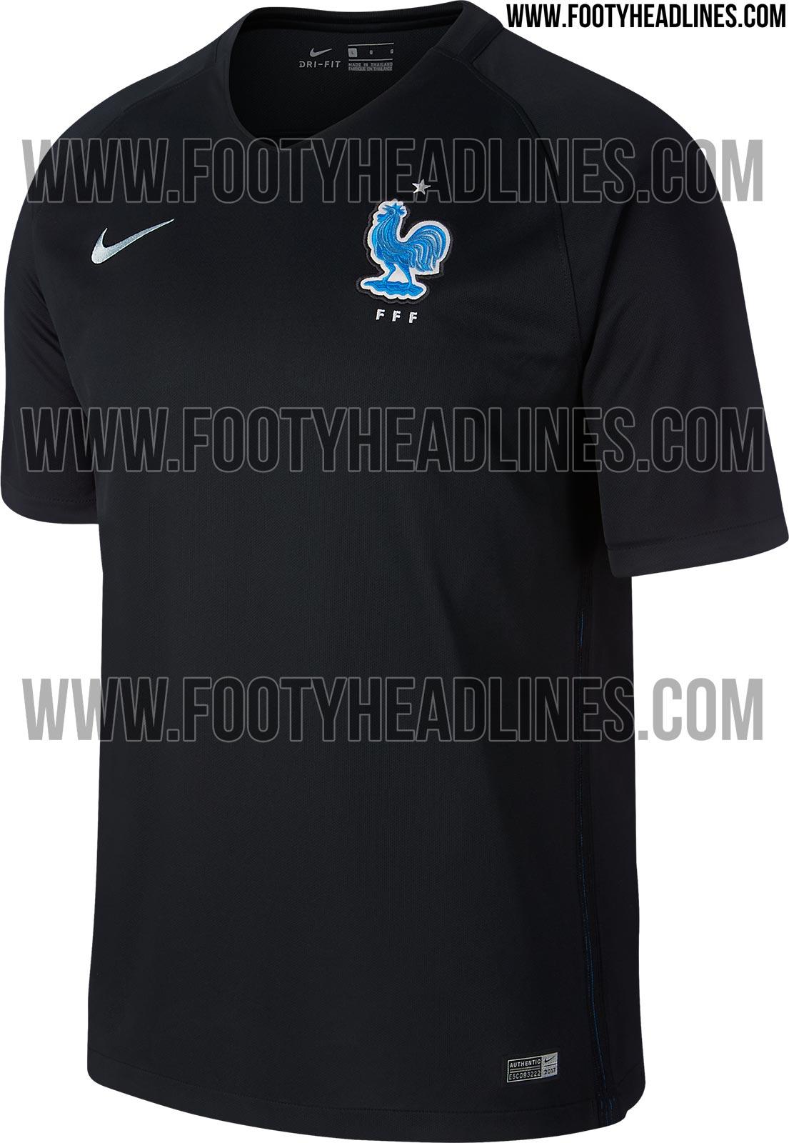 Un maillot noir pour léquipe de France de football Le Huffington Post