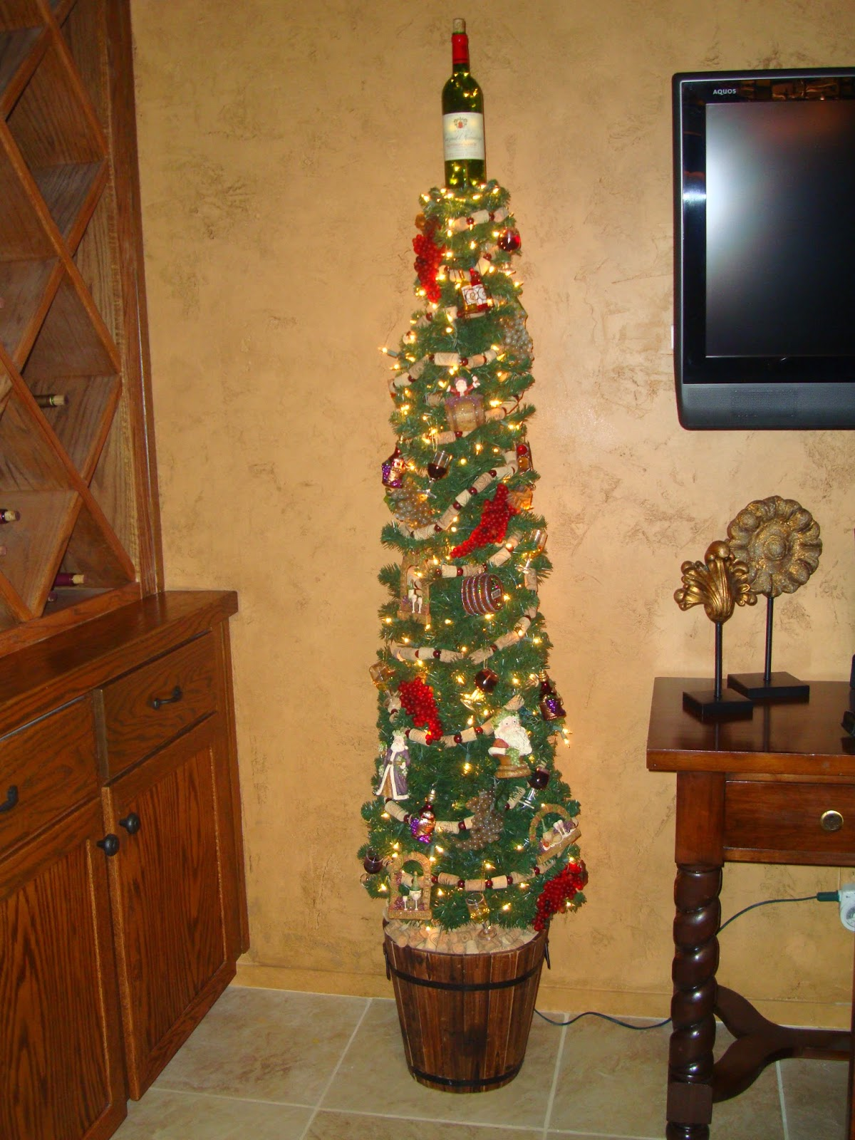 Dimes Are A Girl S Best Friend Wine Cellar Christmas Tree