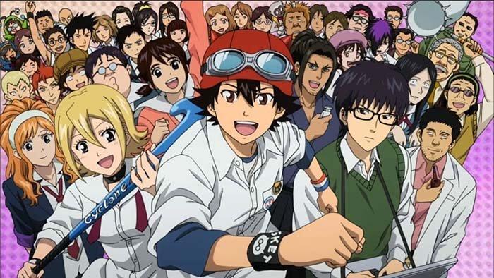 Review Anime Sket Dance